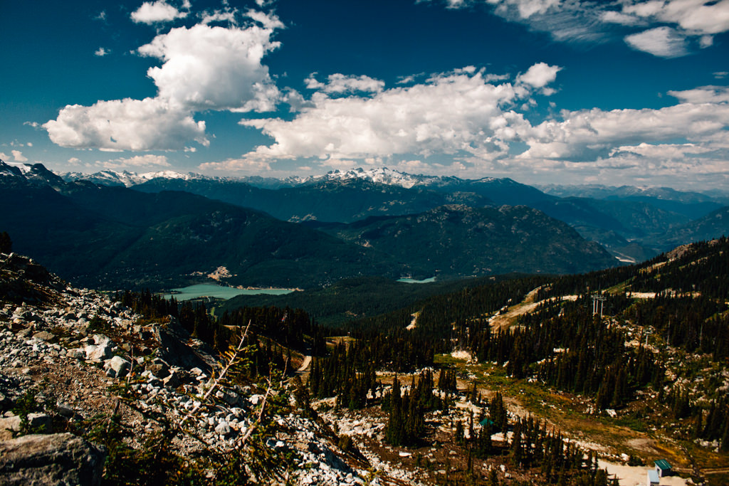 Blackcomb Meadows And Overlord Trail In Whistler